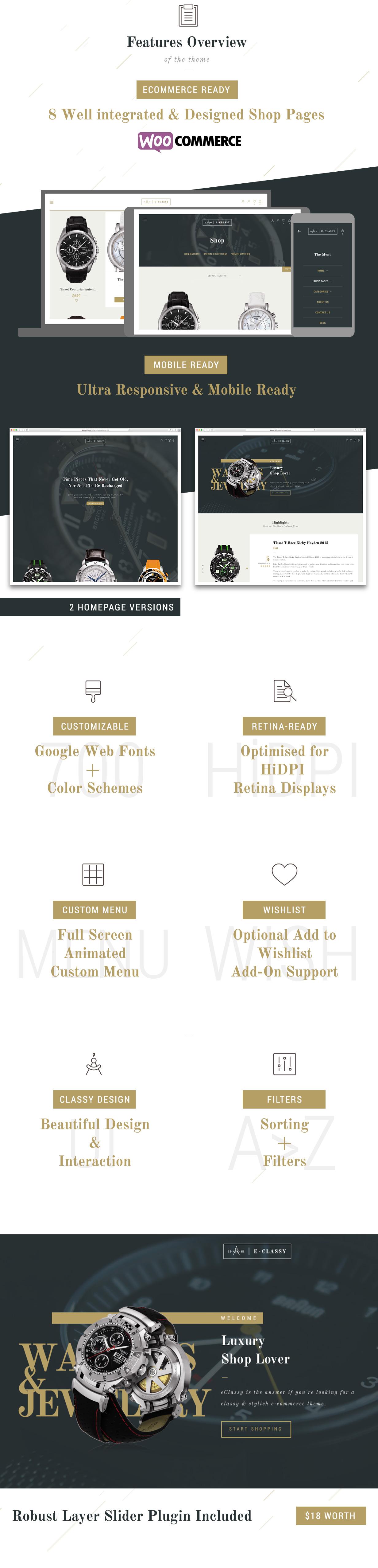 eClassy - eCommerce Classy Pro WordPress Theme - 1